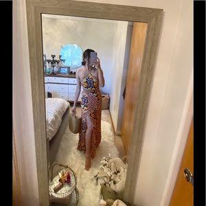 Split Maxi dress